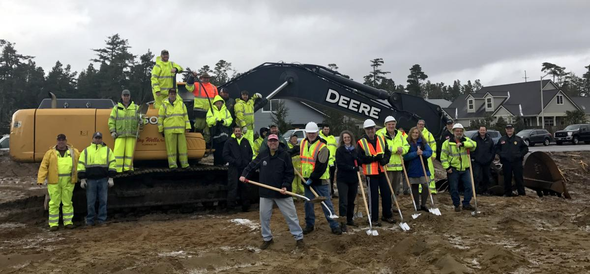 Public Works Groundbreaking