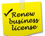 Business License Renewal Icon